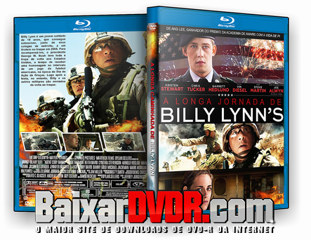 A Longa Caminhada de Billy Lynn (2017) BD-R 25 GB Dual Audio
