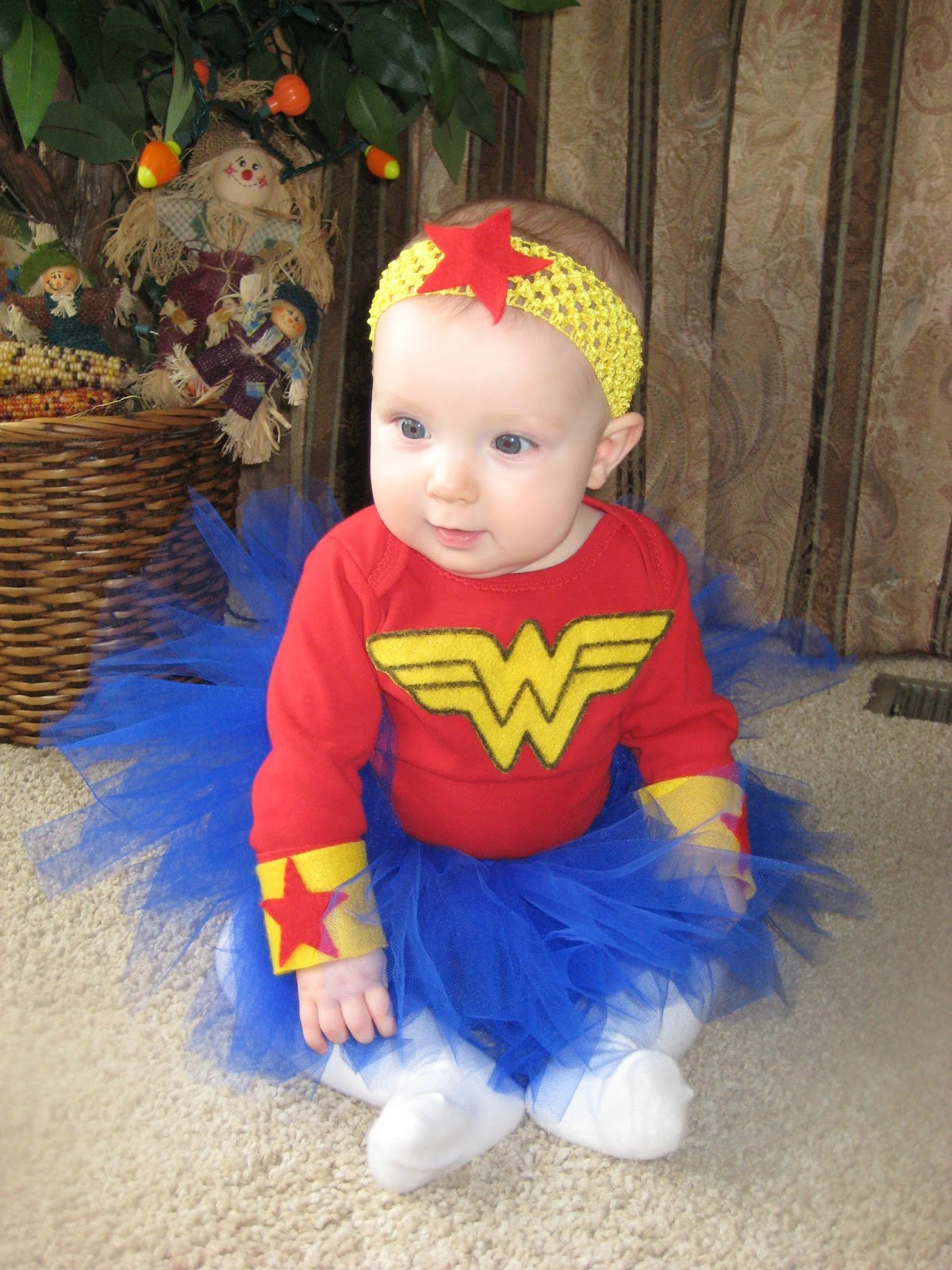 DIY Halloween Costumes for Kids and Toddlers - Wonder Woman - www.sweetlittleonesblog.com