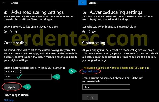 Fix Windows 10 Blurry Fonts Problem