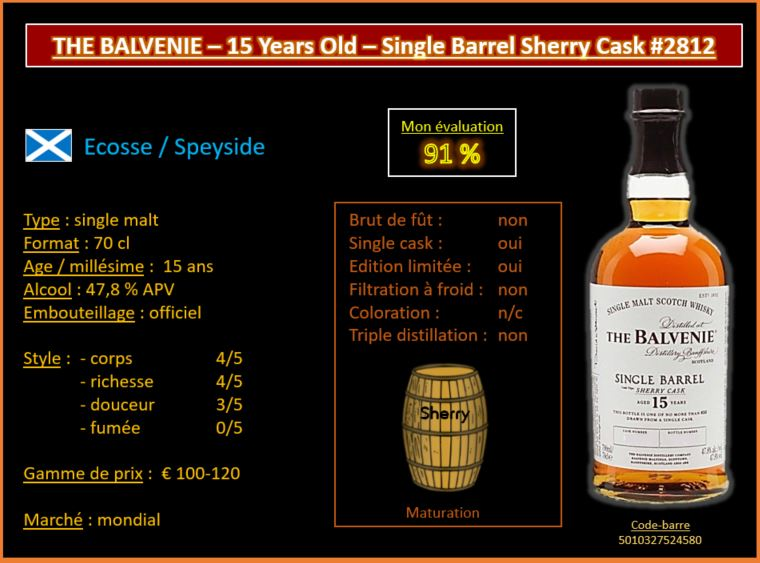 Balvenie 25 single barrel review
