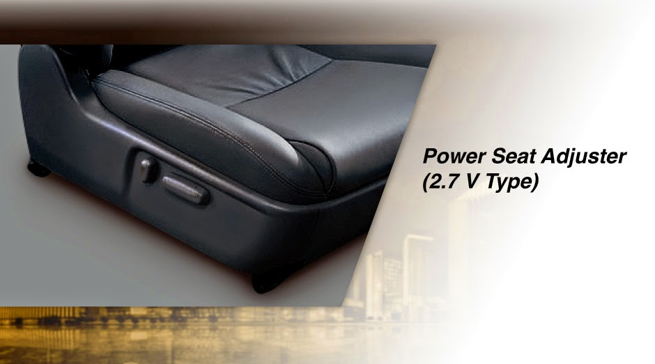 fortuner power seat-adjuster