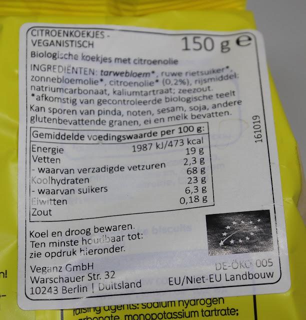 IMG 2425 - Snack Time! Veganz koekjes