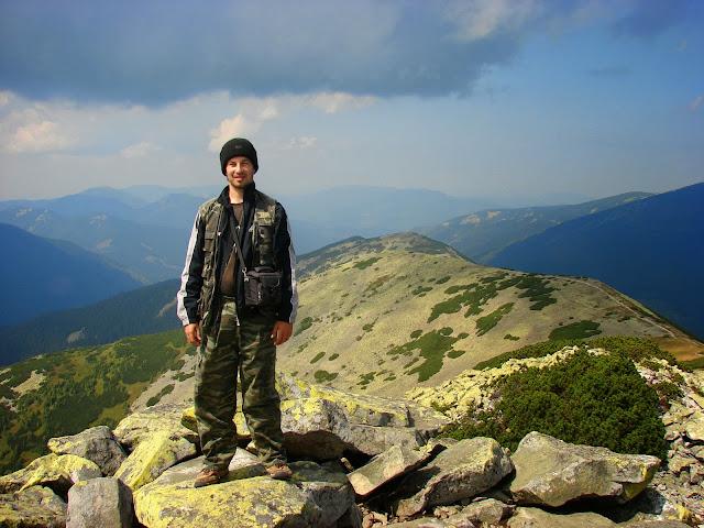 Я на вершине Большой Сивули