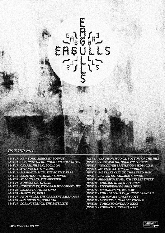 OUR FIRST US TOUR - 12/05/14 - 22/06/14