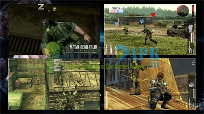 Game Metal Gear Solid Peace Walker High Compress ISO CSO PPSSPP For Android