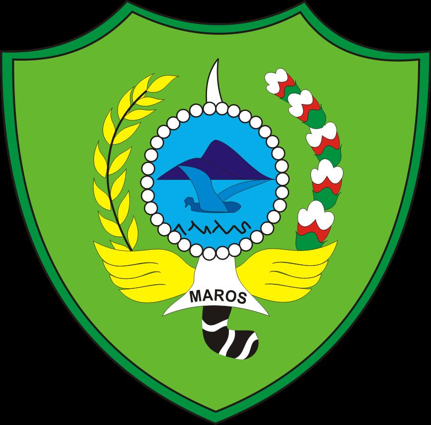Logo Kabupaten Maros Kumpulan Logo Lambang Indonesia