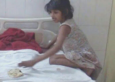 An Indian 8-Years old Girl Raised By Monkeys