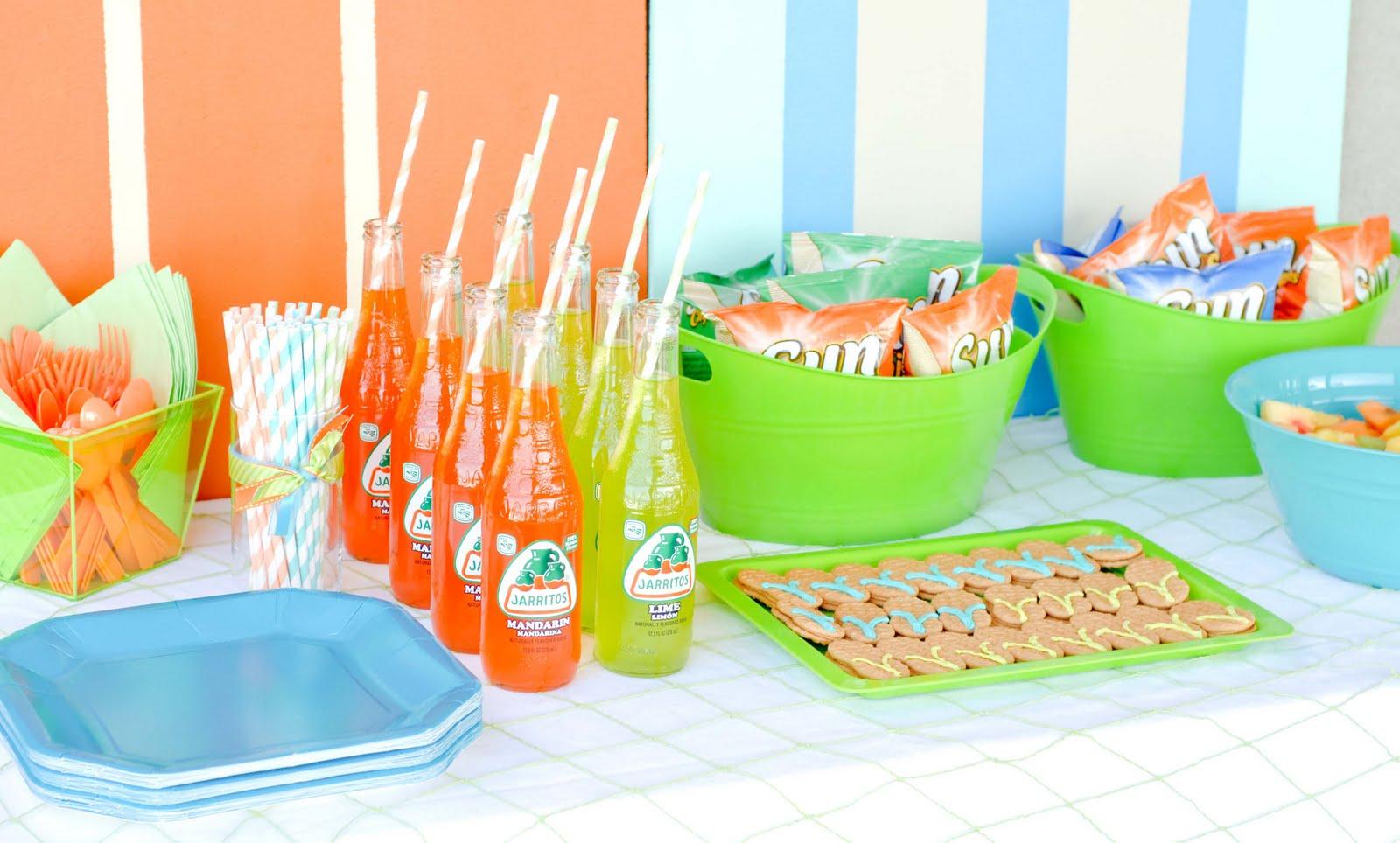 The Best Food to Serve at Pool Parties - Coastal Living  |Best Pool Food