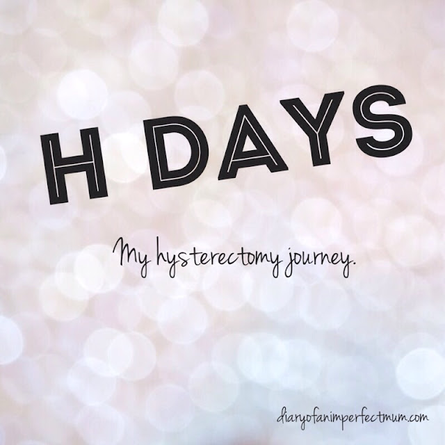 Title: H days my j=hysterectomy journey
