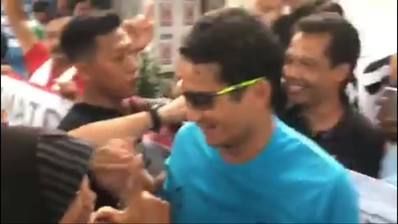 [Video] Dihadang Pendukung Jokowi di Bojonegoro, 2 Balasan Sandi Mengagumkan