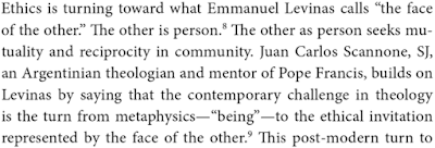 the face by emmanuel levinas essay Apologies: levinas and dialogue in his short 1980 essay 'dialogue', emmanuel levinas it is at this juncture that hendley maintains that 'levinas's.