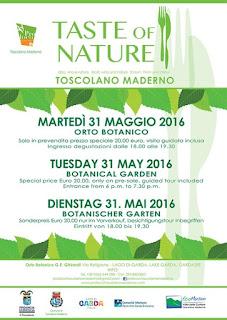 Taste of Nature 31 Maggio Toscolano Maderno (BS) 2016