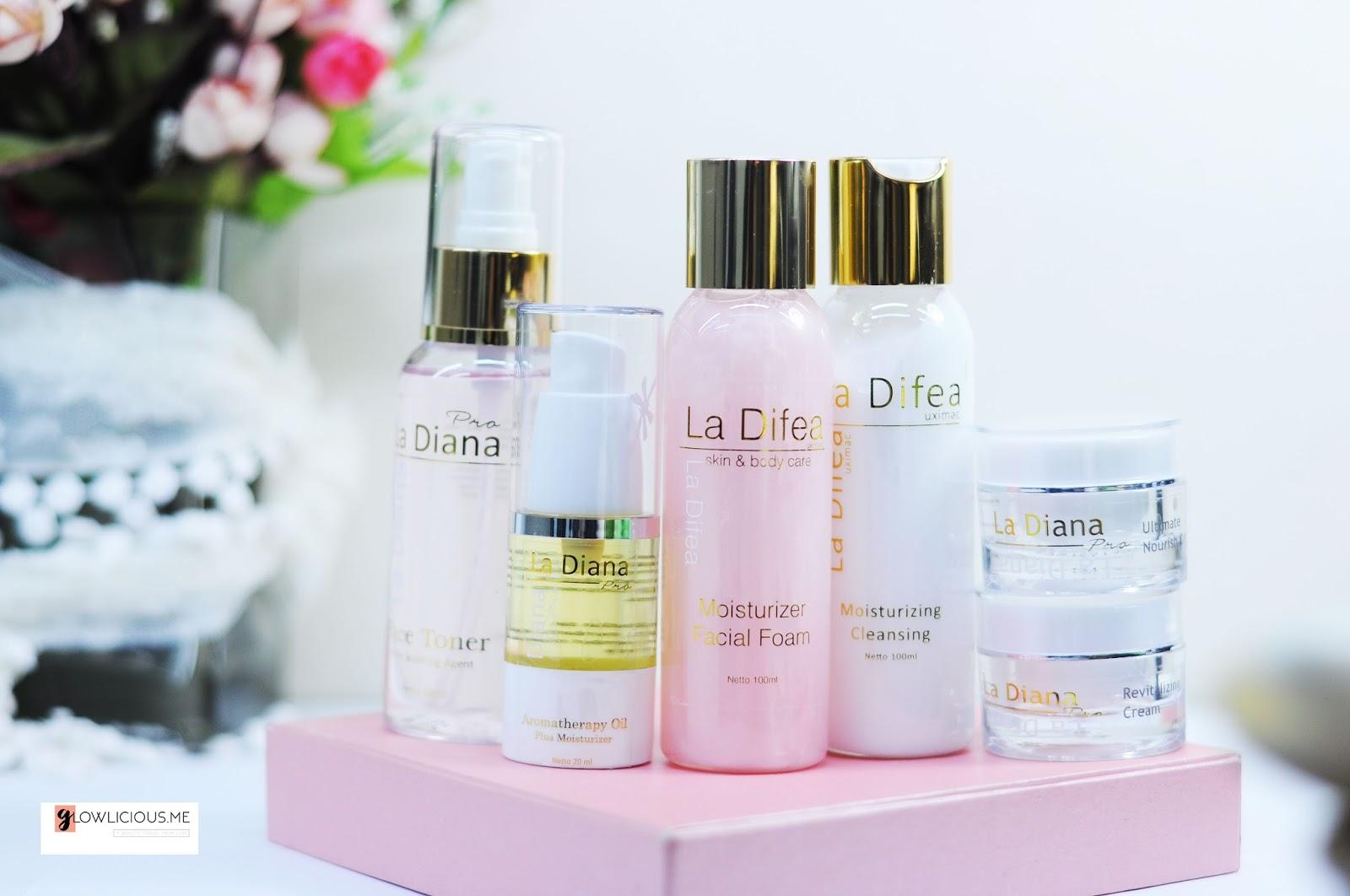 Merawat Kulit Wajah Menggunakan Rangkaian La Diana Skincare (Since 1955)