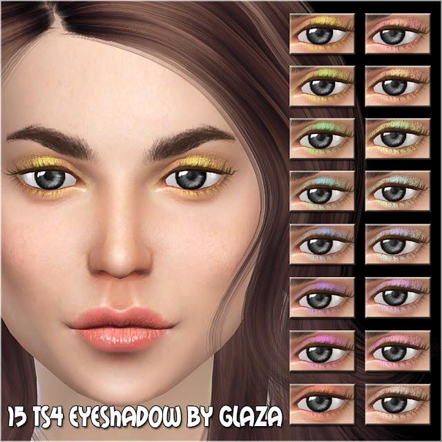 15 ts4 eyeshadow by glaza