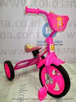 samping Sepeda Roda Tiga BMX PMB 919 Safari-Pink