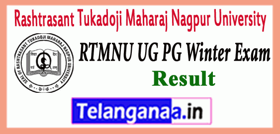 Nagpur University Winter 1st 3rd 5th 7th Semester UG PG Results