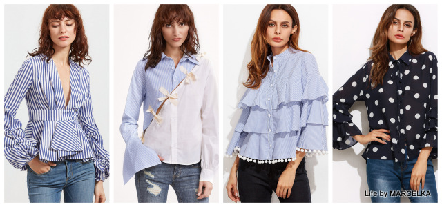 www.shein.com/Blue-And-White-Striped-Pom-Pom-Trim-Layered-Ruffle-Blouse-p-333348-cat-1733.html?utm_source=www.lifebymarcelka.pl&utm_medium=blogger&url_from=lifebymarcelka