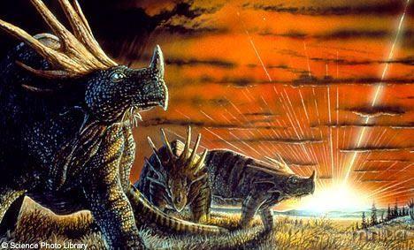 Uma nuvem interestelar pode ter levado à extinção dos dinossauros