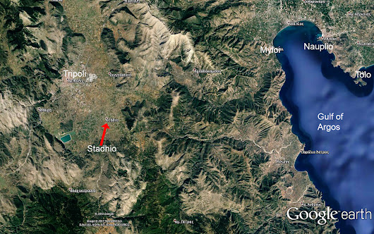 Where is the church of Ayios Konstantinos (Arcadia) C1716?