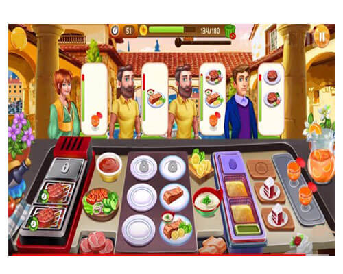 لعبة الطبخ كوكينج داي