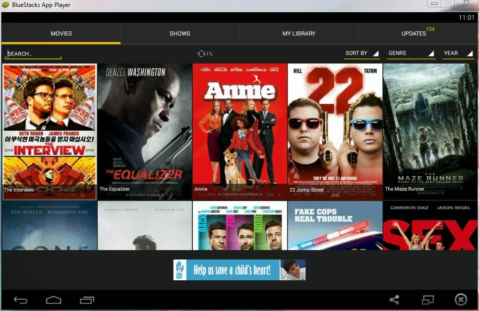 Download Latest Movies and TV Shows in Android for Free with Showbox App