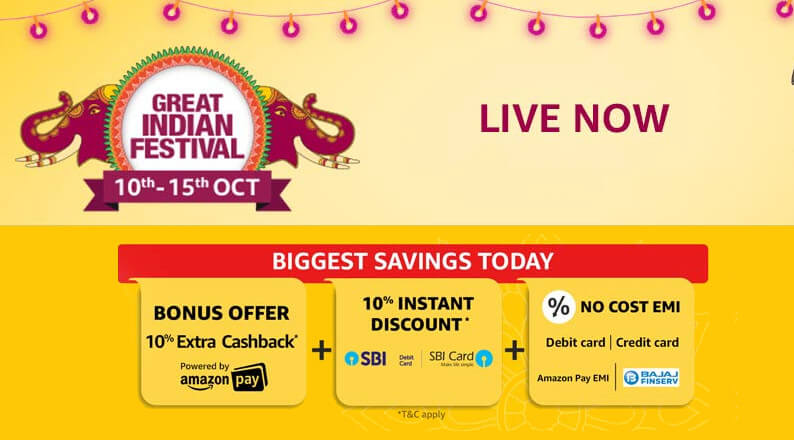 Amazon Great Indian Festival Sale: Top Tech and Gadget Deals