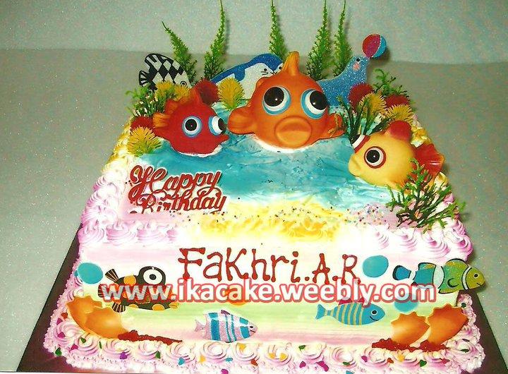 Kue Ulang Tahun Ikan K 045 Kue Ulang Tahun