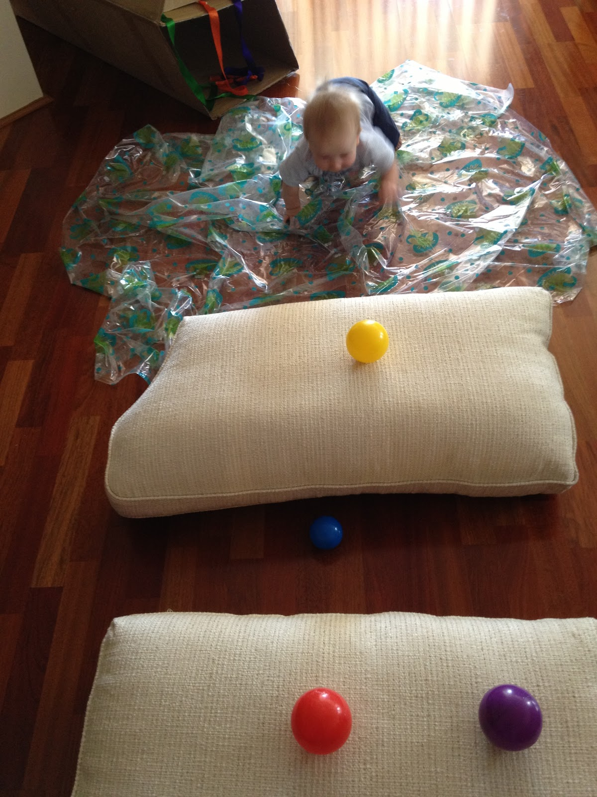 playing and learning begins at home  baby sensory crawl obstacle course