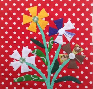 fleurs du mardi, quiltmania, chuck nohara