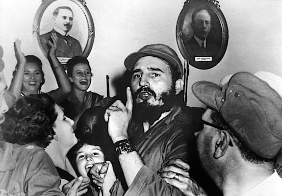 Dziewczyna, która nie przywitała Fidela Castro
