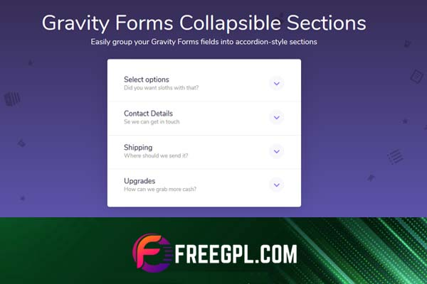 Gravity Forms Collapsible Sections Nulled Download Free