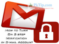 How to Turn On 2-step Verification in G-mail Account