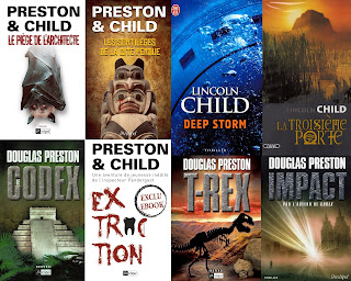 [Multi]  22 romans de Preston et child
