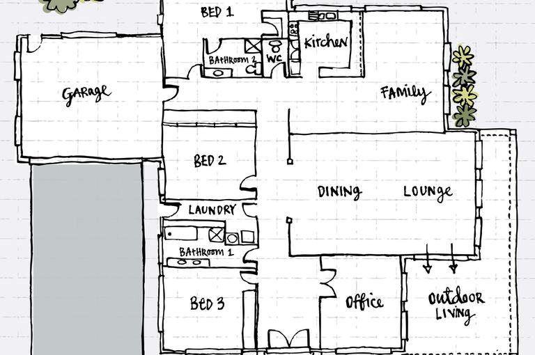 Mengenal Gambar Denah Lantai (Floor Plan)