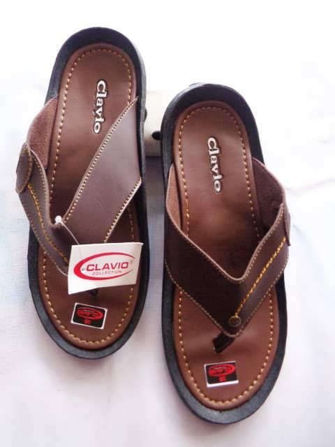Sandal Clavio japit Pria Terbaru - Distributor sandal imitasi
