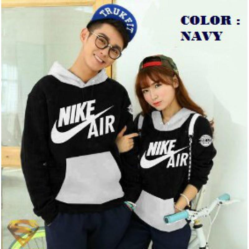 Jual online sweater terbaru bahan babyterry warna navy keren