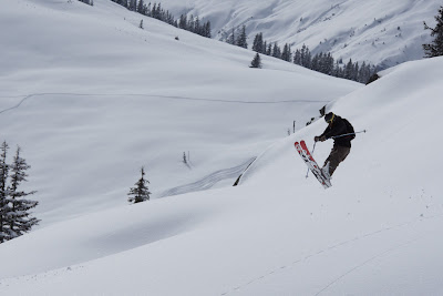 Tricks beim Skifahren