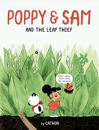 Poppy and Sam and the Leaf Thief is composed in a comic-book style that kids will really like. Its illustrations are great and the garden makes for an interesting setting filled with talking plants and insects. #OwlkidsBooks #NetGalley #PoppyandSam #ComicBook #GraphicNovel