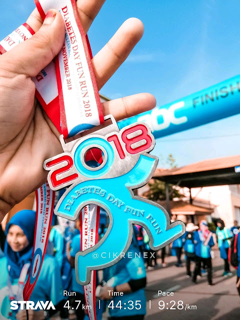 Diabetes's Day Fun Run di Hoshas