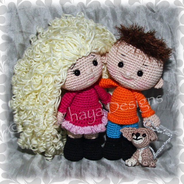 Amigurumi Max and Mia-Free Pattern