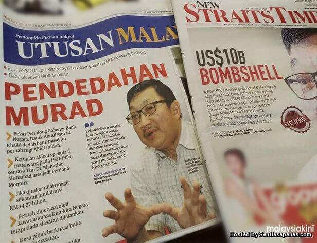 Skandal forex malaysia 1992