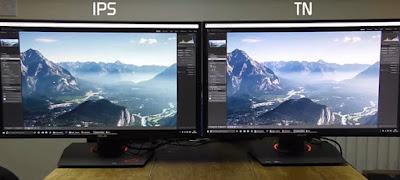 Angolo di visione monitor
