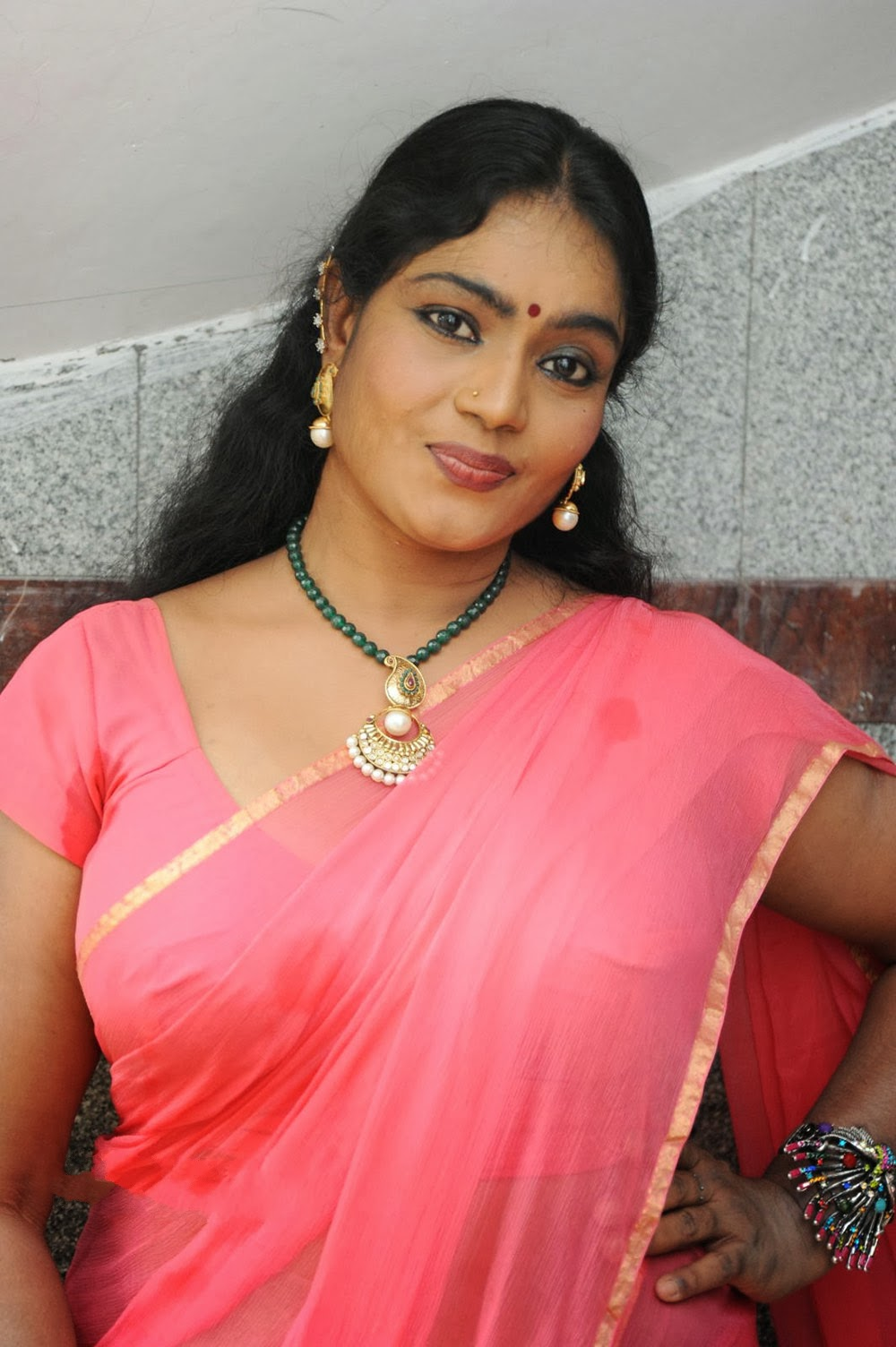 jayavani saree latest actress tollywood movie rajmahal shoot movies spicy stills pic