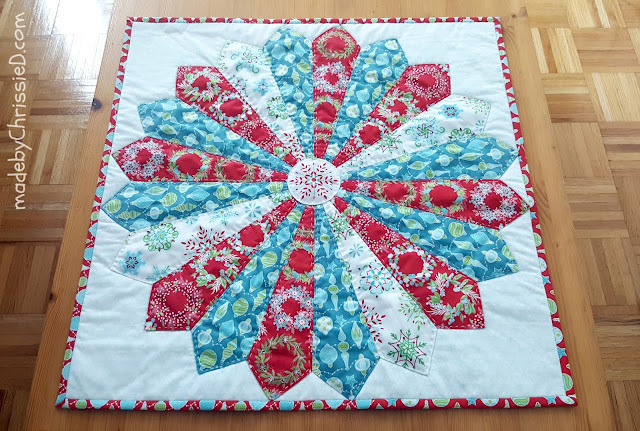 Wall Hanging/Table Topper tute by www.madebyChrissieD.com