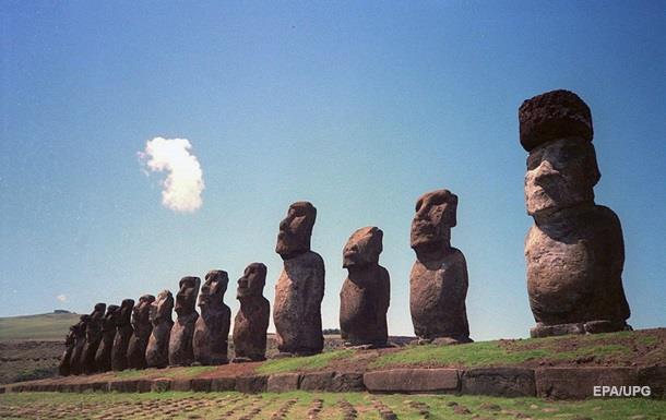 Вчені з'ясували, як з'явилися кам'яні капелюхи у бовванів острова Пасхи