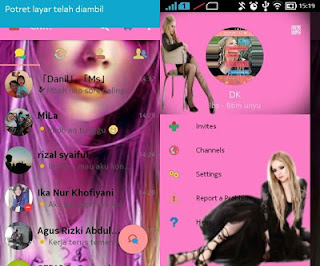 DOWNLOAD KUMPULAN BBM MOD  PINK September  2016
