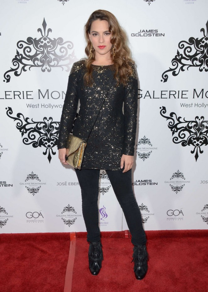 Melia Kreiling – Galerie Montaigne Opening in Los Angeles