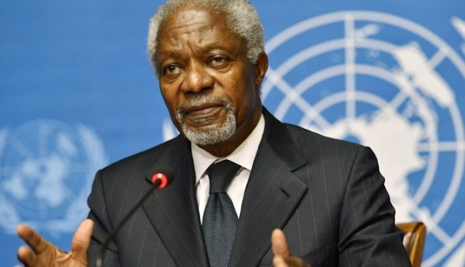 Gov't announces plans for Kofi Annan's funeral rites