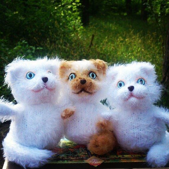 сувенир, подарок, котики, мастер-класс