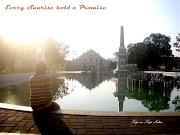 Plaza Salcedo,  Vigan Ilocos Sur - A Spot to Chill with Beautiful Sunrise